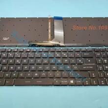Новая Azerty клавиатура для MSI GP63 GP73 GF62 GF62VR GF72VR Azerty Французская клавиатура с полноцветной подсветкой хрустальной клавишей