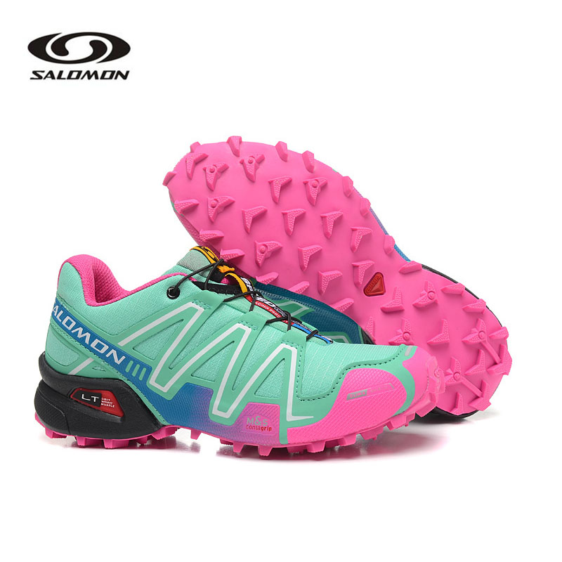 Salomon Speed Cross 3 chaussures pour femmes Salomon Sneakers Sports de plein air chaussures d'escrime Salomon Hombre Mujer