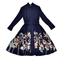 Trench Coat For Women Slim Embroidery Fashion Coat High-end Royal Embroidery Lin