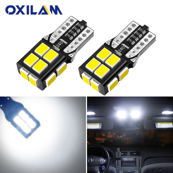 2x LED Bulbs 501 T10 White 1x 1W HP To Fit Number Plate Peugeot ...