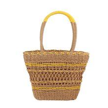 Special Style New Summer Beach Fashion Women Girls Woven Handbag Messenger Tote Purse Hollow Straw Bag