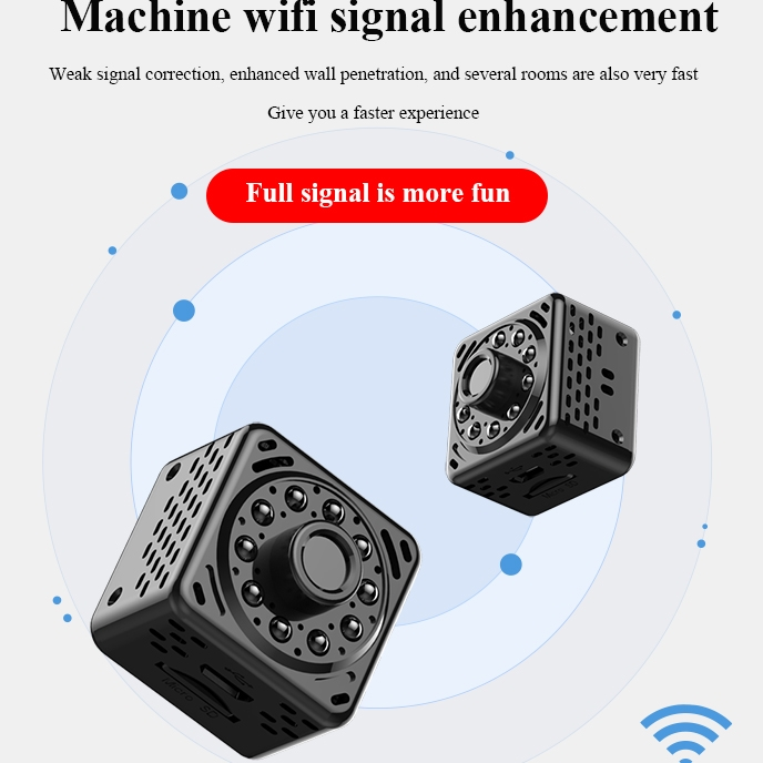 HiLEME Separate Split Battery New TechnologySmallest Motion Detection Camera with hidden TF card 2019 lastest