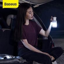 Baseus Car Emergency Light adsorpcja magnetyczna sypialnia Camping lampki nocne akumulator cztery kolorowe tryby dla samochodu i domu