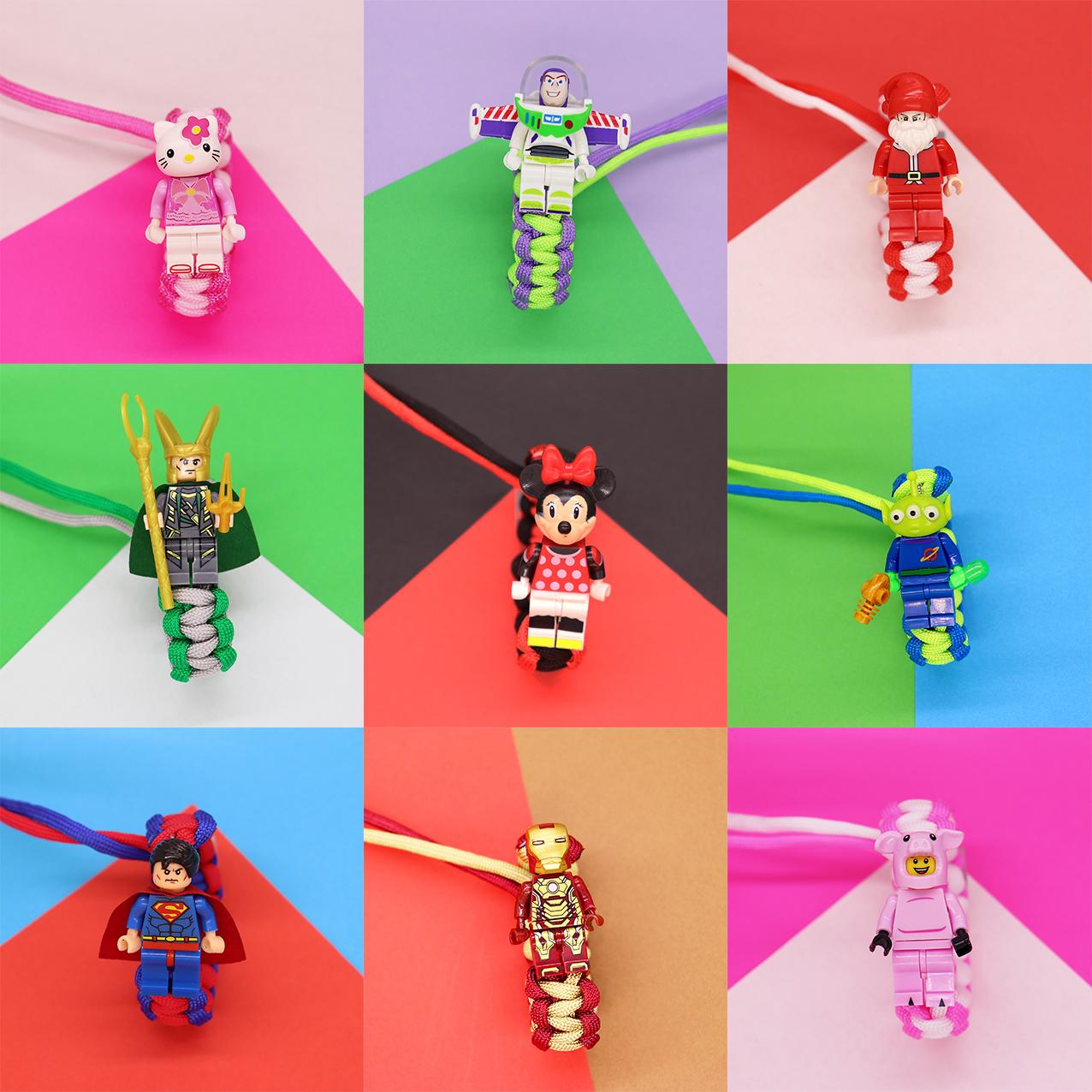 Браслет с героями мультфильма «мстители» «История игрушек 4»