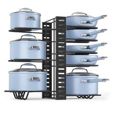 kitchen organizer metal pan…