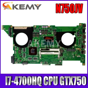 k43sv motherboard gt520m 1gb rev 4 1 for asus a43s x43s k43sv k43sj laptop motherboard k43sv mainboard k43sv motherboard SAMXINNO  N750JV For ASUS N750JV N750JK motherboard I7-4700HQ CPU GTX750 Laptop motherboard REV2.0/2.1 mainboard Test OK