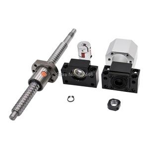 Image 4 - 6 Set HGR20 Lineaire Geleiderail Ballscrew Kit SFU1605/SFU1610 400/700/1000 + HGH20CA / HGW20CC + Bk/BK12 + Moer Behuizing + Koppeling Cnc Deel