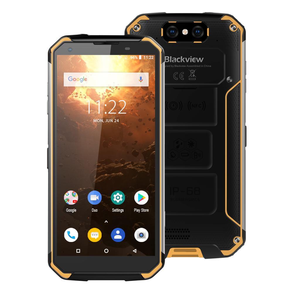 "Blackview BV9500 Plus Smartphone P70 Octa Core 5.7"" 18:9 FHD Screen IP68 Waterproof Cellphone 10000mAh 4GB 64GB Mobile Ph"
