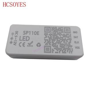 Image 5 - SP110E Bluetooth Pixel light Controller by smart phone APP For WS2812B SK6812 LPD8806 DMX512 1903 RGB/RGBW DC5 24V