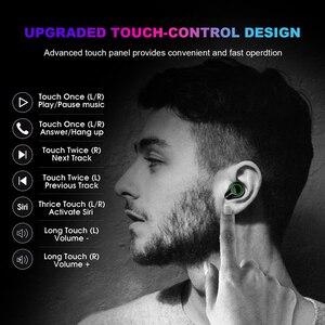 Image 5 - T9 TWS True Wireless Earbuds 7000mAh Bluetooth 5.0 Earphone IPX7 Waterproof Headphones with Noise Cancelling Microphone  Headset