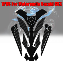 цена на 5D Carbon Fiber Motorcycle Tank Pad Sticker for Protector Sticker Decal for  For Suzuki GSX S GSX-R 150 250 GSXR600 750 1000