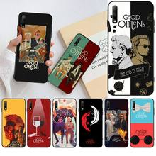 Милый чехол для телефона Good Omens Angel Demon Bling для Huawei Honor 30 20 10 9 8 8x 8c v30 Lite view pro