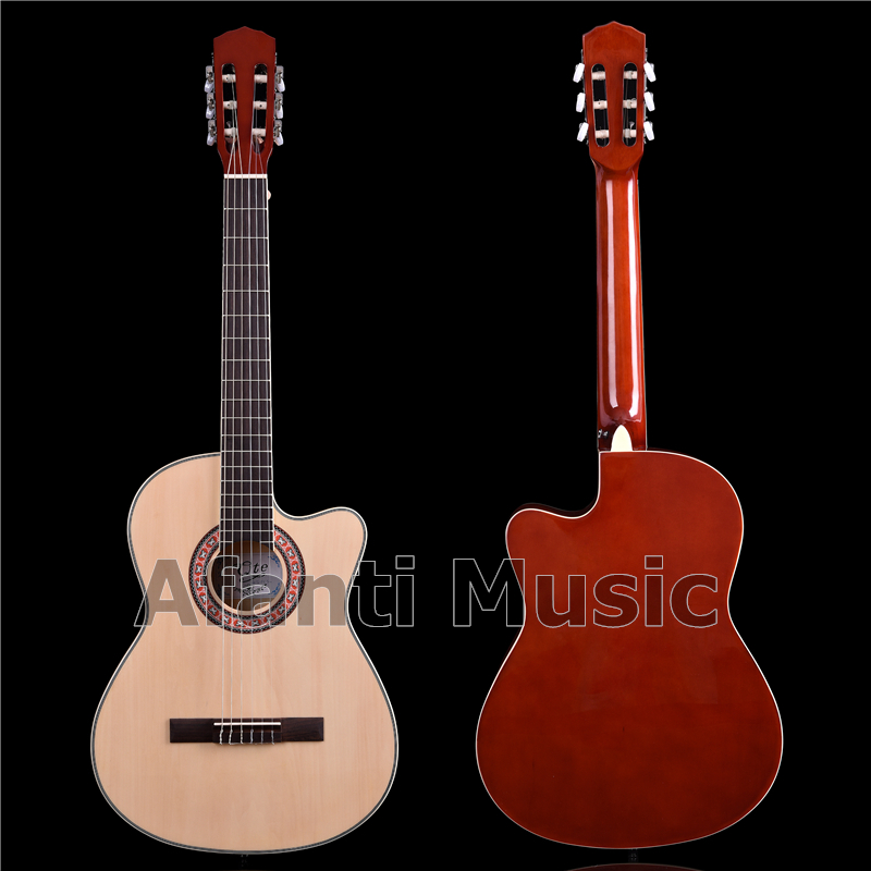 Afanti Music 39 Inch All Basswood Classical Guitar (ACL-1561)