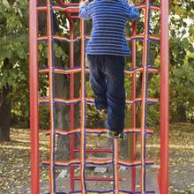 90 X 48inch Crawling Net-playground Freight Net-swing Frame Climbing Net-children's Freight Net-ninja Net Climbing Net
