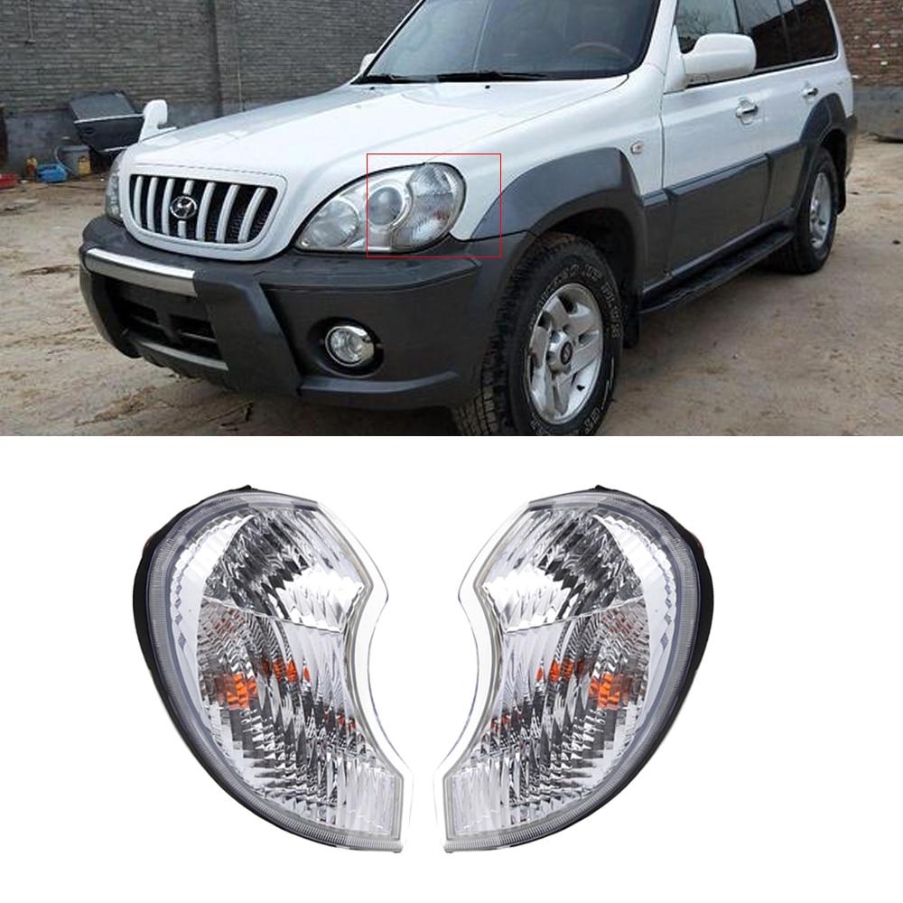 Corner Light For Hyundai Terracan 2001-2006 Headlight Front Headlights Assembly Wide Light Corner Lamp Corner Lights Head Lamp