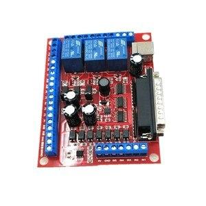 Image 3 - Máquina de grabado MCACH2 MACH3 de 6 ejes, placa de separación, USB, husillo, PWM, novedad