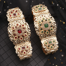 Traditional Moroccan style jewelry jewelry long gown belt for the ladies luxury