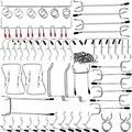 Крючки для Pegboard  набор крючков для хранения дома  система  набор вешалок для инструментов  набор для гаража  кухни  мастерской  органайзер  по...