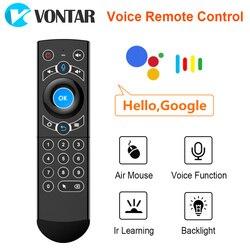 G21 Pro żyroskop z pilotem 2.4G bezprzewodowa klawiatura Air Mouse z pilotem IR mikrofon do TV Box z androidem X3 Pro