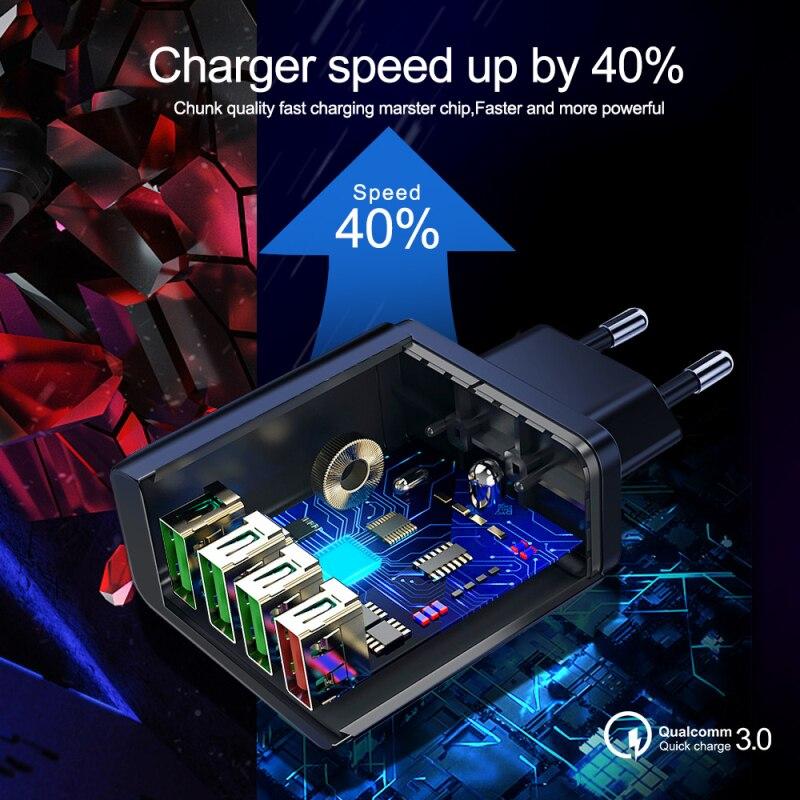 Купить 31a зарядное устройство быстрое 30 портативное настенное для