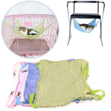 Summer Mesh Cloth Soft Pet Cat Hammock Bed Cool Breathable  Removable Hanging swing pet bed For Puppy D40