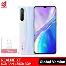هاتف Realme XT الإصدار العالمي 8GB 128GB NFC الهاتف المحمول سنابدراجون 712 AIE ثماني النواة 64MP كاميرا رباعية 4000mAh شحن سريع الهاتف الذكي