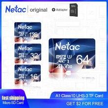 Netac-carte mémoire Micro SD de classe 10, avec adaptateur USB 128, 16 go/32 go/64 go/offre spéciale go