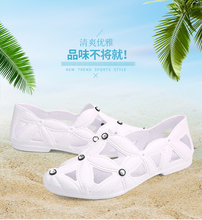 2020 Summer New Men Beach Shoes Women Outdoor Swimming Adult Hollow Out Breathable D022