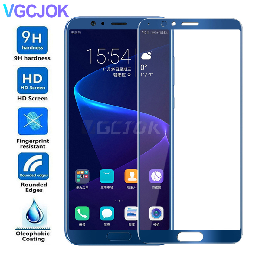 <font><b>5D</b></font> Full Cover Tempered <font><b>Glass</b></font> on For <font><b>Huawei</b></font> <font><b>Honor</b></font> 20 10 <font><b>9</b></font> 8 Lite Screen Protector For <font><b>Honor</b></font> view 20 V8 V9 V10 V20 Protective Film image
