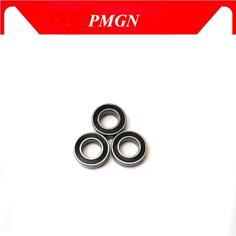 10 PCS Miniature Ball Bearings Black Rubber Sealed Bearing 684-2RS 4x9x4