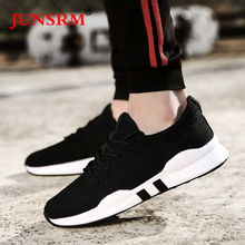 Mens Running Shoes Fashion Mesh Comfortable Walking Jogging Sneakers Breathable Lace-Up Footwear Lightweight Classic