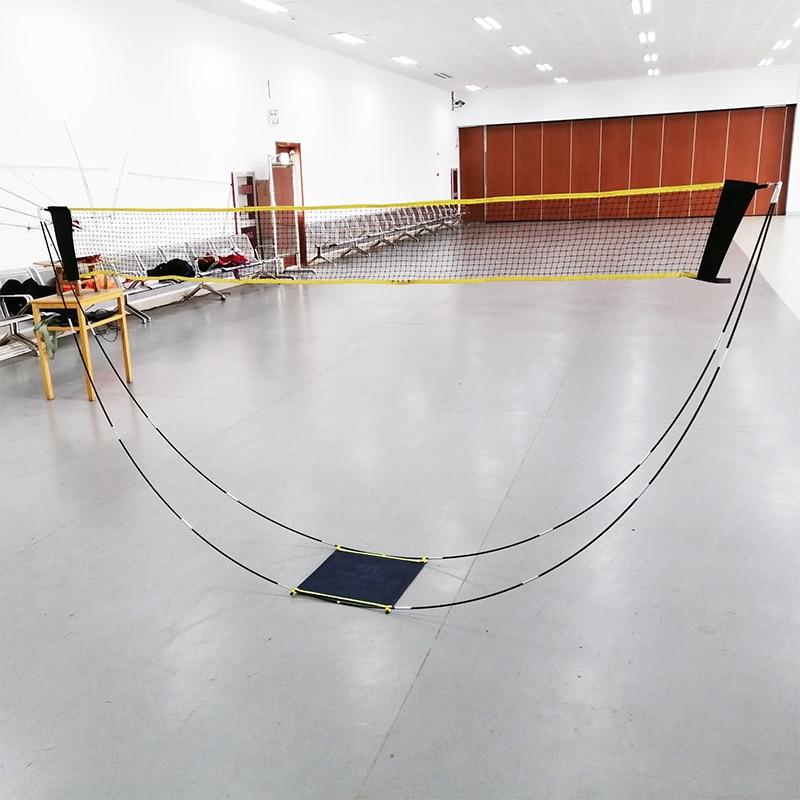 Portable Badminton Net Frame Professional Volleyball Training Square Mesh Tennis Badminton Sport Net 3Meter Shuttlecock Network