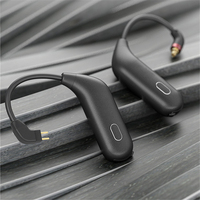 For FiiO UTWS1 Headset Wireless Bluetooth Upgrade Module MMCX/0.78mm Pin Bluetooth5.0 APTX/TWS+ Earbuds Hook