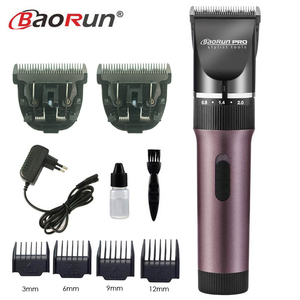 Image 5 - Professional Electric Hair Clipper Titanium Blade 2000mA Battery Mens Beard Trimmer Hair Cutting Machine For Salon