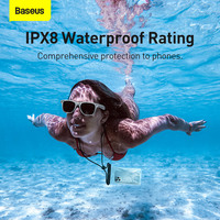 Baseus Water Proof Phone Bag for iPhone 13 12 11 Pro Max Waterproof Phone Case For Samsung Xiaomi Oppo Huawei Swim Universal Protection Cover