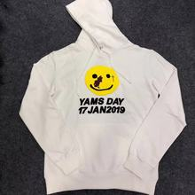 Men Hoodies YAMS DAY 2019 Hoodie ASAP Yams Commemorative Edition Sweatshirt A$AP Mob ROCKY CPFM Pullovers 17 JAN Kanye