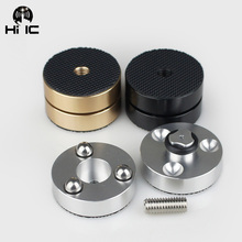 Neueste HiFi Audio Lautsprecher Verstärker CD Player Stahl ball Anti stoßdämpfer Fuß Füße Pads Vibration Absorption Steht Spikes