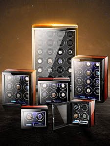 Watch Winder Automatic with Mabuchi-Motor/lcd-Touch-Screen And Remote-Control-New-Arrivals