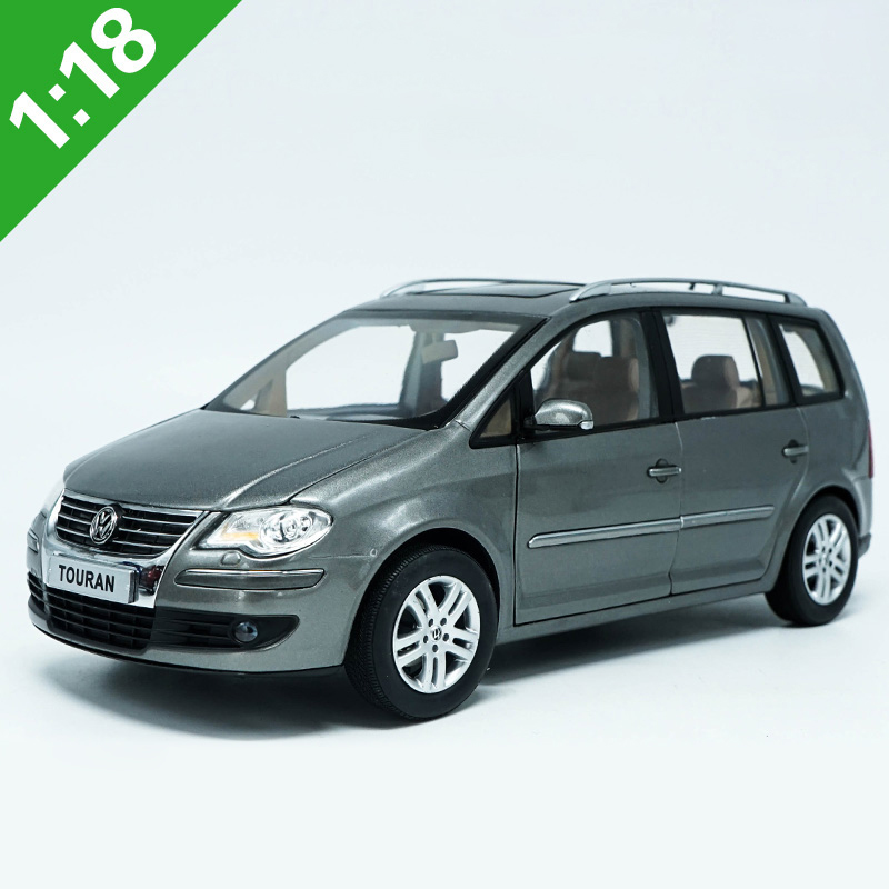 High Meticulous 1:18 VW TOURAN MPV Alloy Model Car Static Metal Model Vehicles Original Box For Gifts Collection