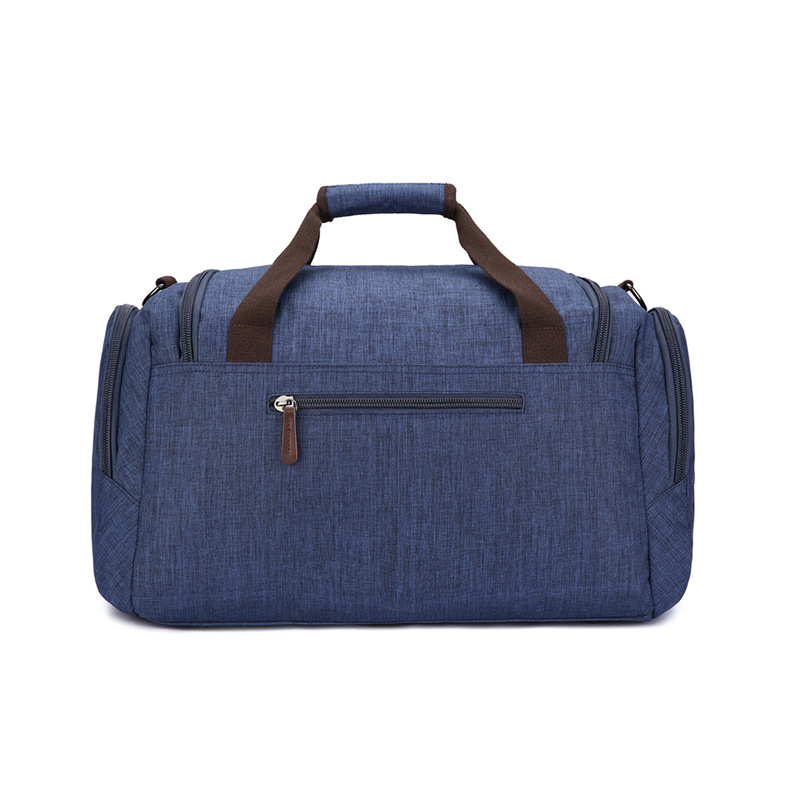Bolsa de viaje de gran capacidad material anti salpicaduras para hombres y mujeres bolsa de viaje de color puro - 2