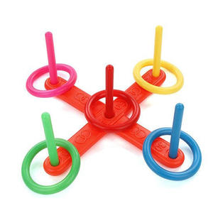 Toys Hoop-Ring Toss Garden-Game Kids Children Throwing Plastic Movement Pool-Toy Ability
