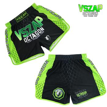 VSZAP Wolf Fitness fighting shorts Sport Thai boxing MMA training fight quick dry muscle beach pants man