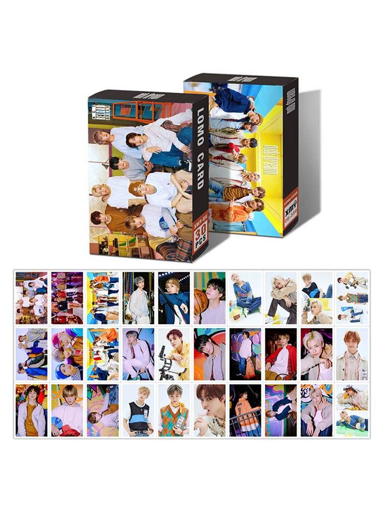 30 шт./компл. K-POP ENHYPEN NCT DREAM фото плакат ломо карты самодельные Бумага HD Фотокарта вентиляторы подарок