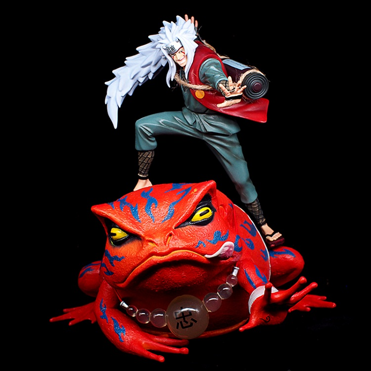 Animation Garage enfant Naruto livraison Collection jouets: figurine PVC poupées Jiraiya et gama-bunta modèle décoration meilleur cadeau