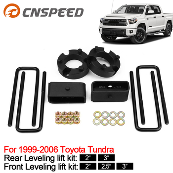 Leveling Lift Kit For 1999-2006 Toyota Tundra Strut Spacers Front And Rear