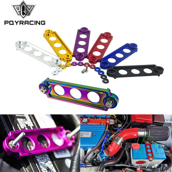 Car Racing Battery Tie Down Hold Bracket Lock Anodized for JDM Honda Civic/CRX 88-00 Car Accessory PQY-BTD71 image