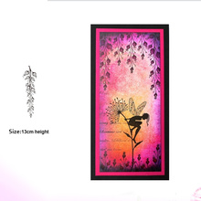 lantern Silicone Transparent Rubber Stamp background clear Stamps DIY Scrapbooking card making
