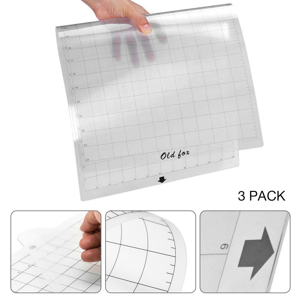 Top SaleMat Plotter-Machine Cutting-Mat Measuring-Grid Adhesive Silhouette Cameo Transparent