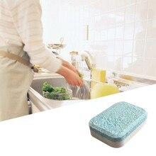 1/5/10 шт двойной Цвет экспорта пленка Водорастворимая для мытья посуды блок посудомоечная машина однотонные чистящее средство для мытья посуды шт