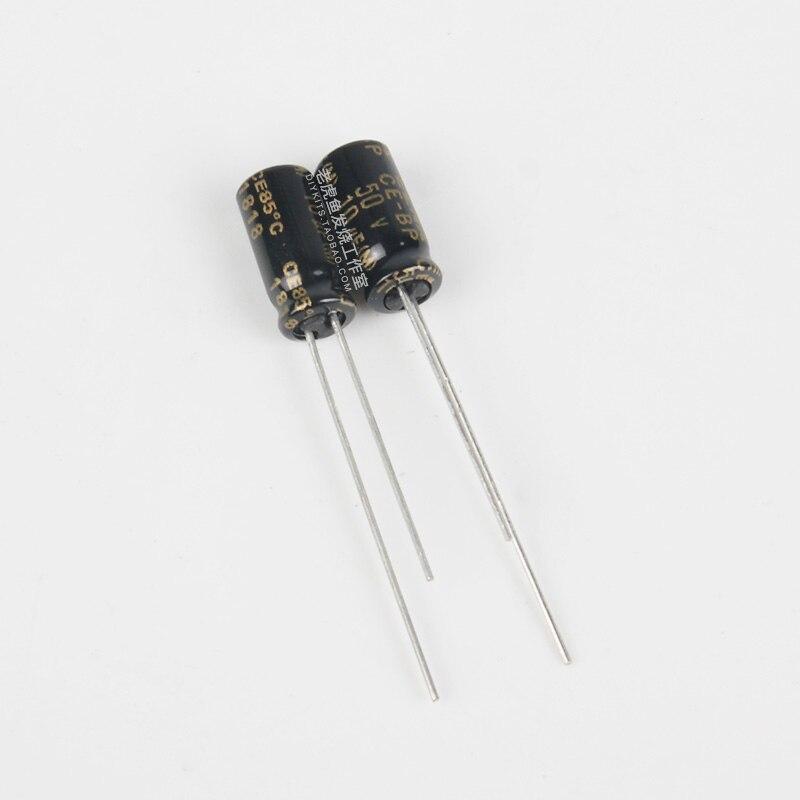 30pcs ELNA RA3 Series 10uF//50V Audio Electrolytic Capacitor 10uf 50v 5x11mm